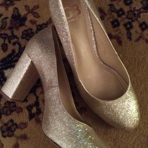 Gianni Bini glitter heels NWOT